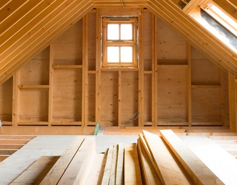Professional attic cleanup service