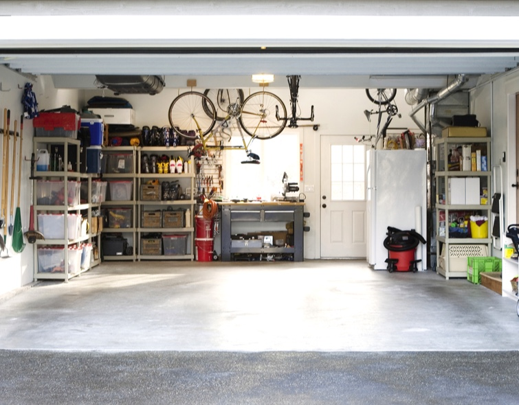 How to clean and organize your garage