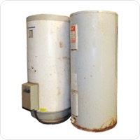 water heater pickup